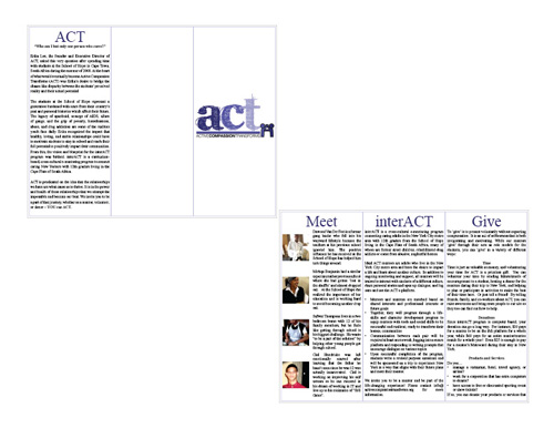 ACT Case Study Brochure Draft 1
