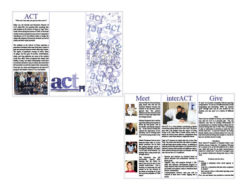 ACT Case Study Brochure Draft 2