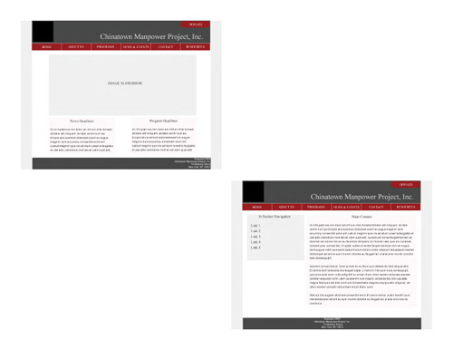 CMPNY Case Study Website Final Design