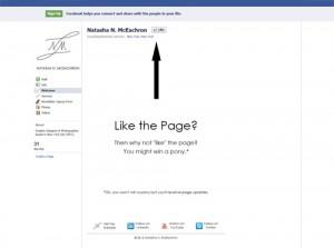 Natasha N McEachron Facebook Like Page