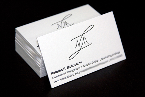 Natasha N McEachron Business Card
