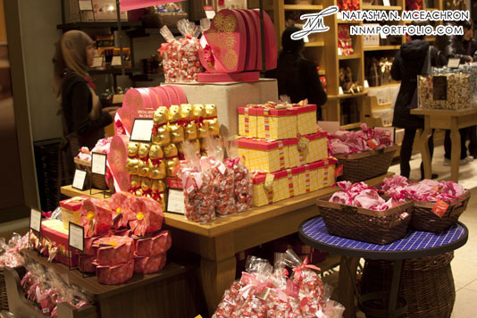 Lindt Valentines Day Display