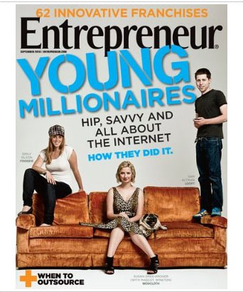 Entrepreneur Magazine Cover
