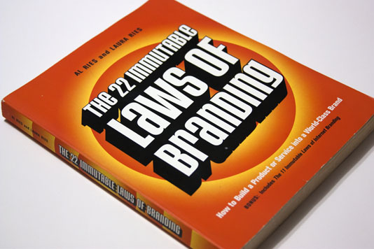 The 22 Immutable Laws of Branding Cover