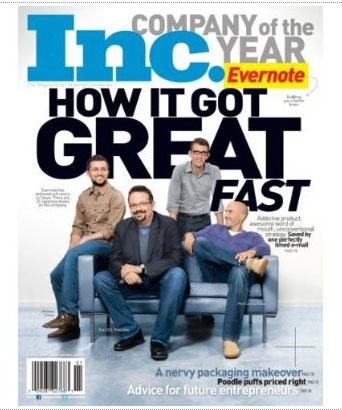 Inc. Magazine Cover