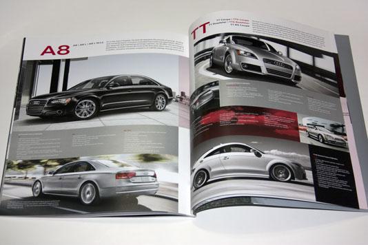 Audi Brochure A8 & TT