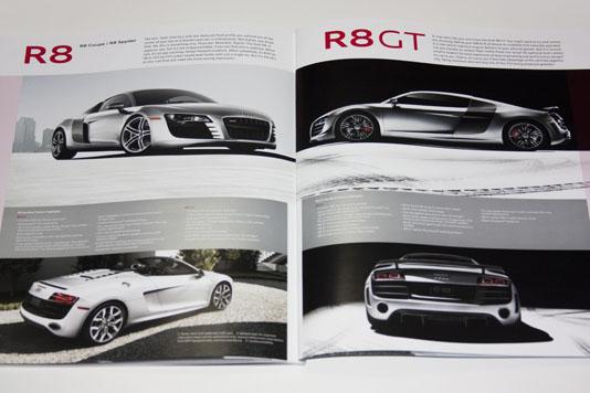 Audi Brochure R8 & R8GT