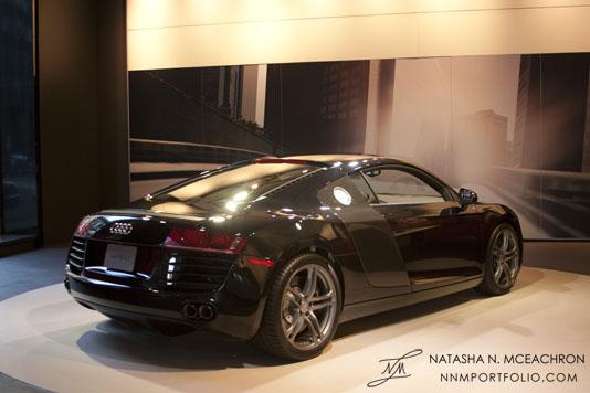 Audi R8 Rear View