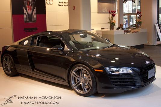 Audi R8 Side View