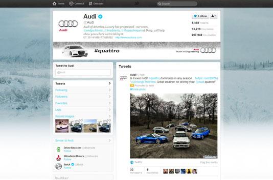 Audi Twitter USA