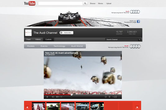 Audi YouTube