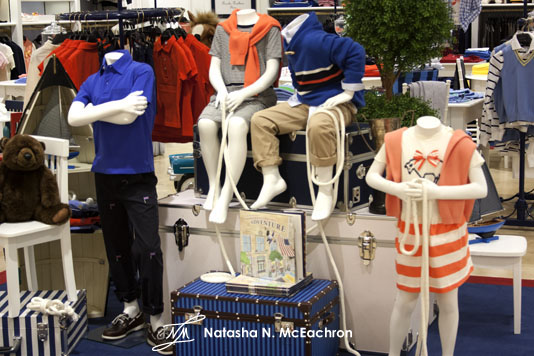 Brooks Brothers Kids Display