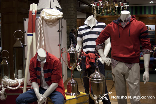 Brooks Brothers Men Display