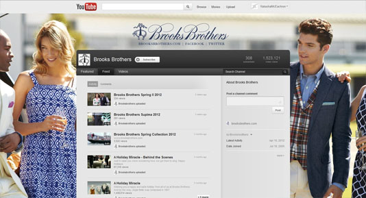 Brooks Brothers YouTube