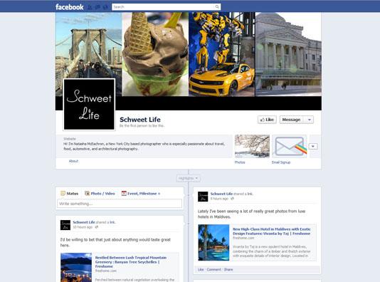 Schweet Life Facebook Page