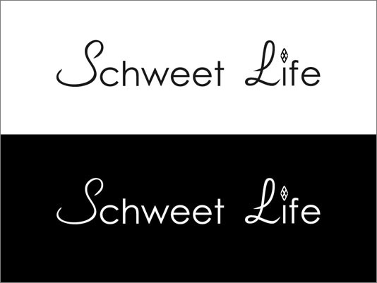 Schweet Life Logo Black and White