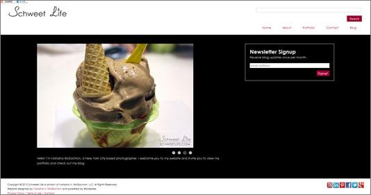 Schweet Life Website