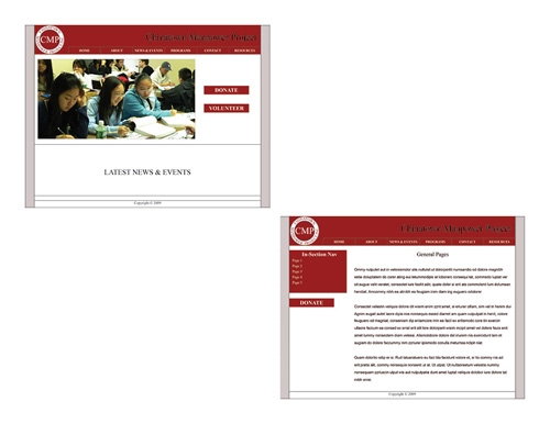 CMPNY Case Study Website Design Draft 1