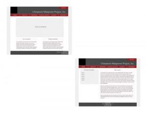 CMPNY Case Study Website Final Design