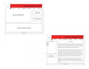 CMPNY Case Study Wireframe Design Draft 2