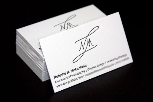 Natasha N McEachron Business Card