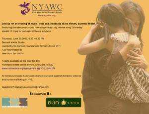 NYAWC Case Study Completed Event Invitation