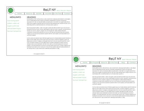 ReLit NY Case Study Website Design
