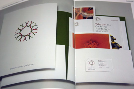 Stationery Design Now! California Academy of Science