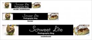 Scwheet Life Leaderboard & Banner Ads